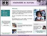 Kindess in Action website
